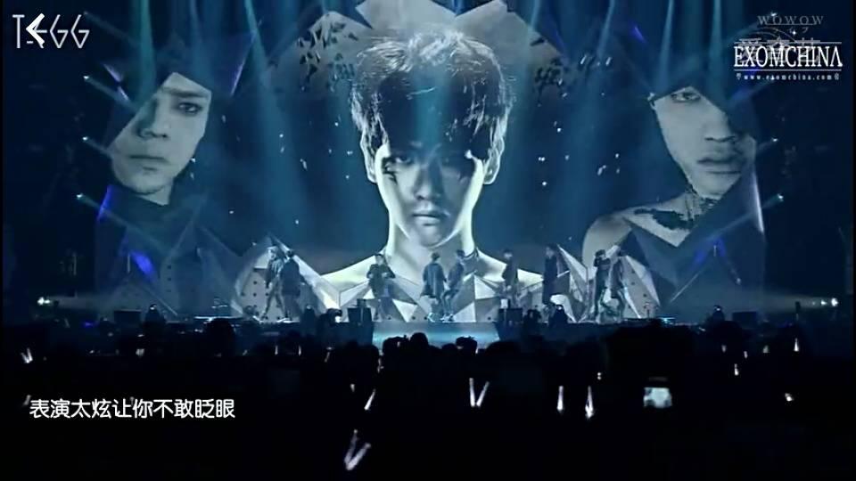 哪里有爱exo演唱会的vcr图片