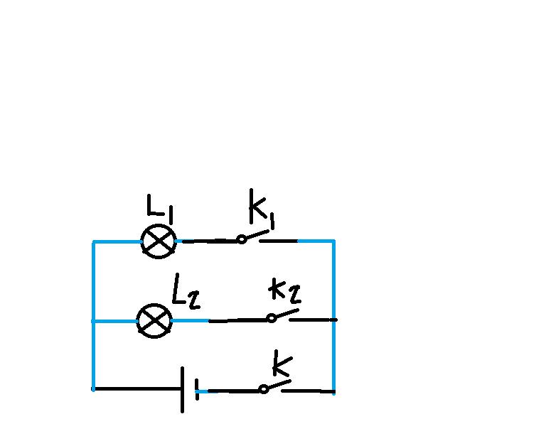 初中物理电路试题 根据实物图画电路图图片