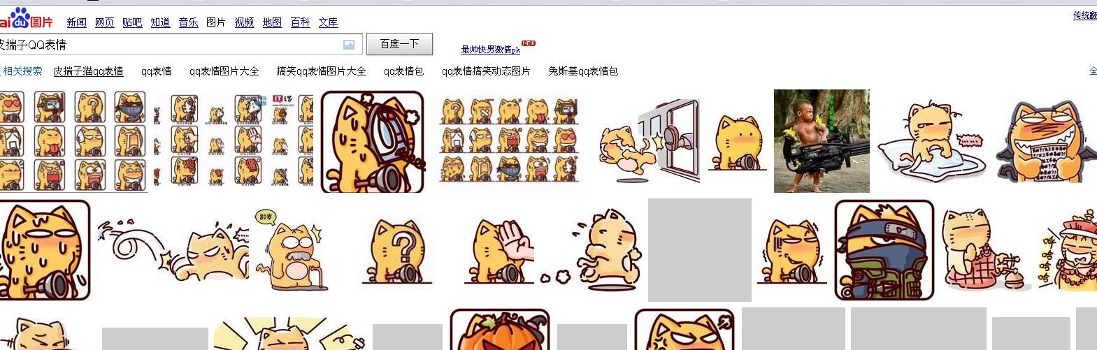 皮揣子猫表情包分享展示图片