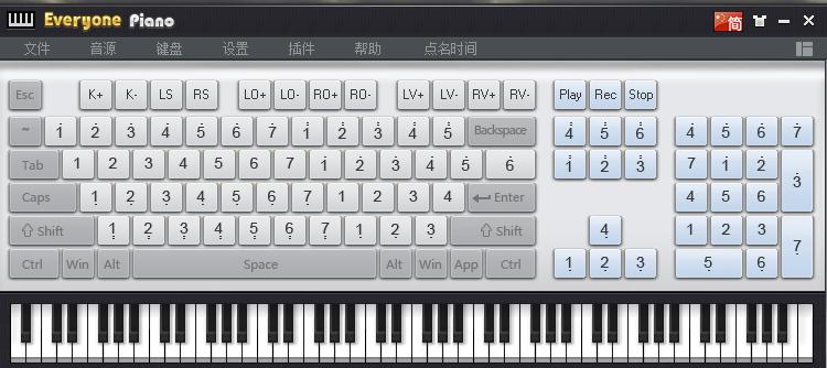dance的電腦鍵盤鋼琴曲譜!圖片