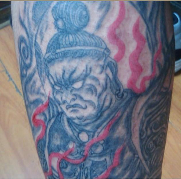 纹身问题 这是什么人物图片