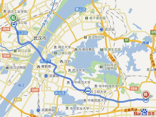 光谷六路步行至武汉纽宾凯光谷国际酒店,1公里.图片