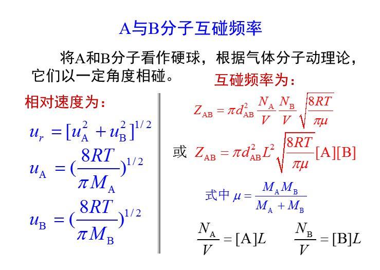 气体碰撞频率与温度