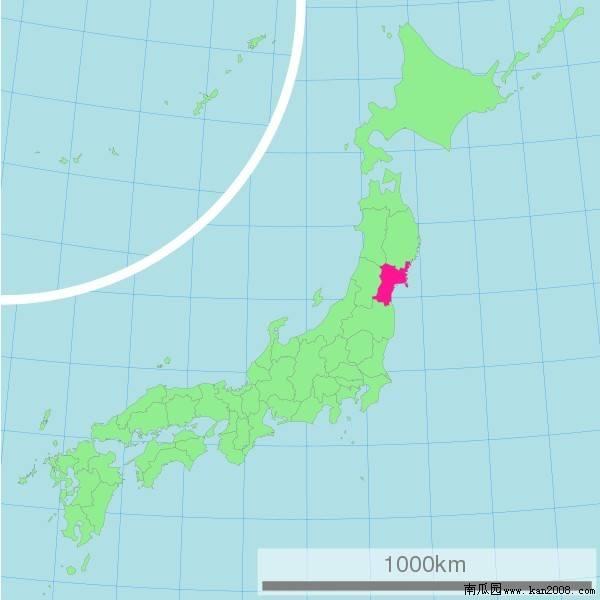 仙台在日本哪里