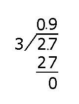 2.7除以0.23的竖式