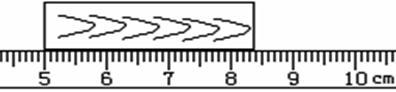 刻度尺有刻度的一侧逐渐向边缘变薄什么意思