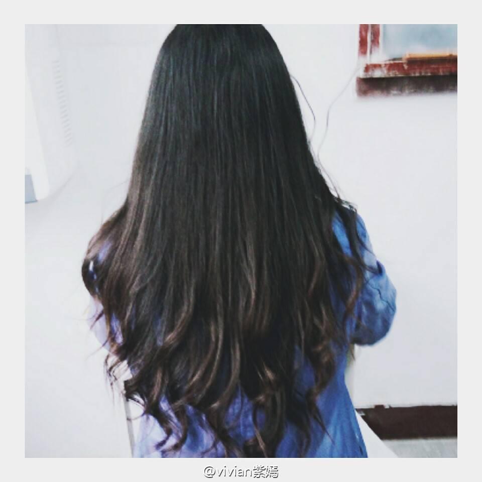 头发细适合烫什么图片