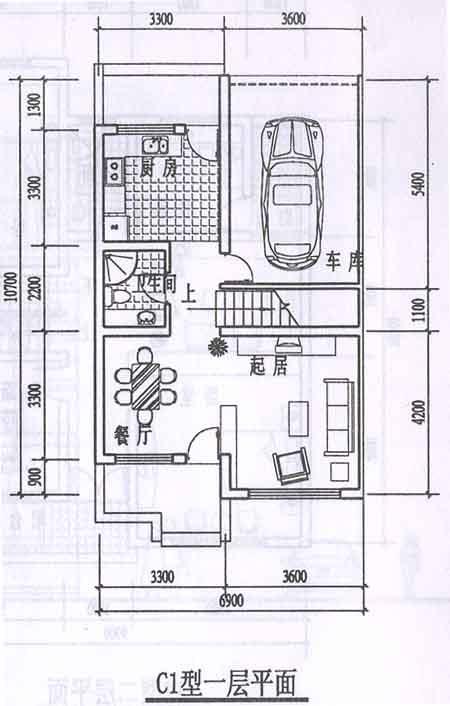 80平方米房屋设计图