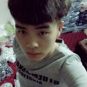 男生斜齐刘海发型图片