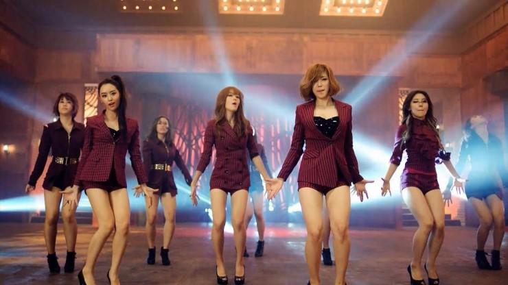 是韩国女子组合secret的mv《poison》