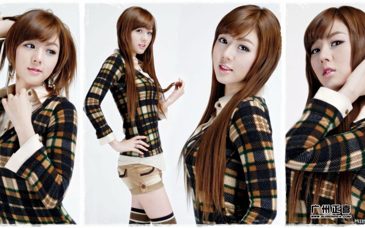 她是韩国美女界清纯玉女的代表