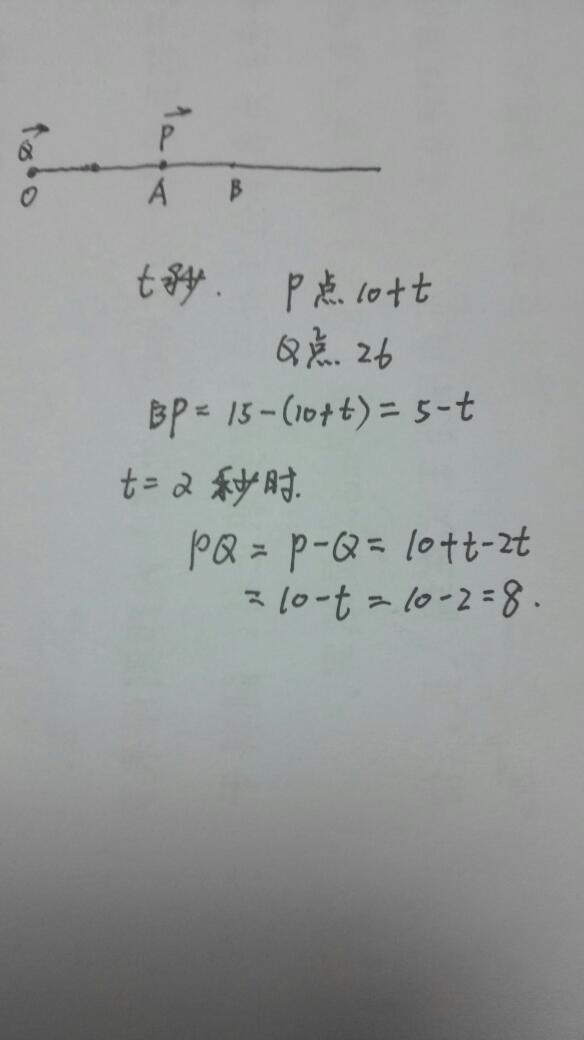 ab两动点分别在数轴