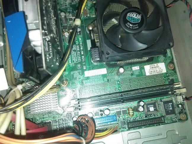 内存条坏了_我家的电脑是惠普台式机,08年的,最近有一个内存条坏了,是奇梦达1g