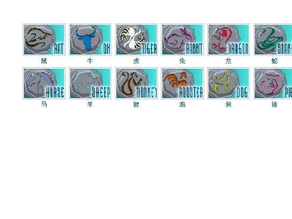 解决一下成龙历险记中十二生肖的符咒都有什么功能?图片