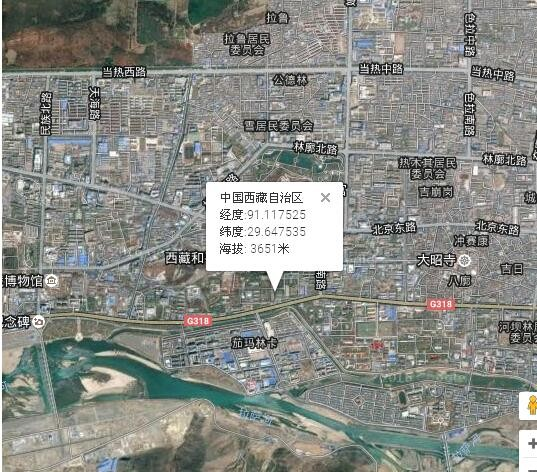 左贡县海拔