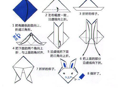 猫的折纸方法