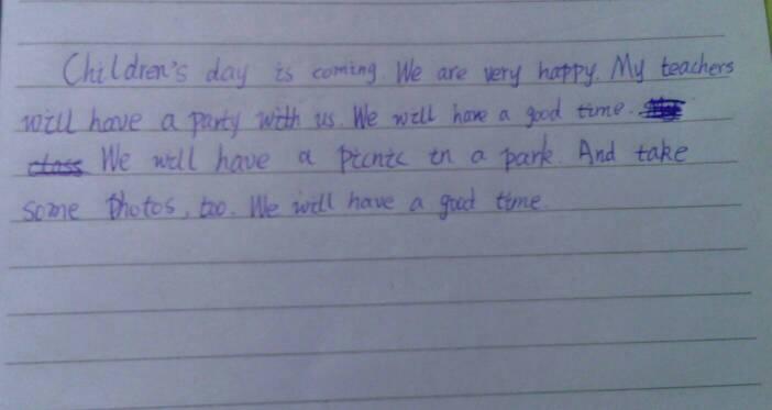 跪求写一篇 英语作文 100字左右 按信件 格式 !图片
