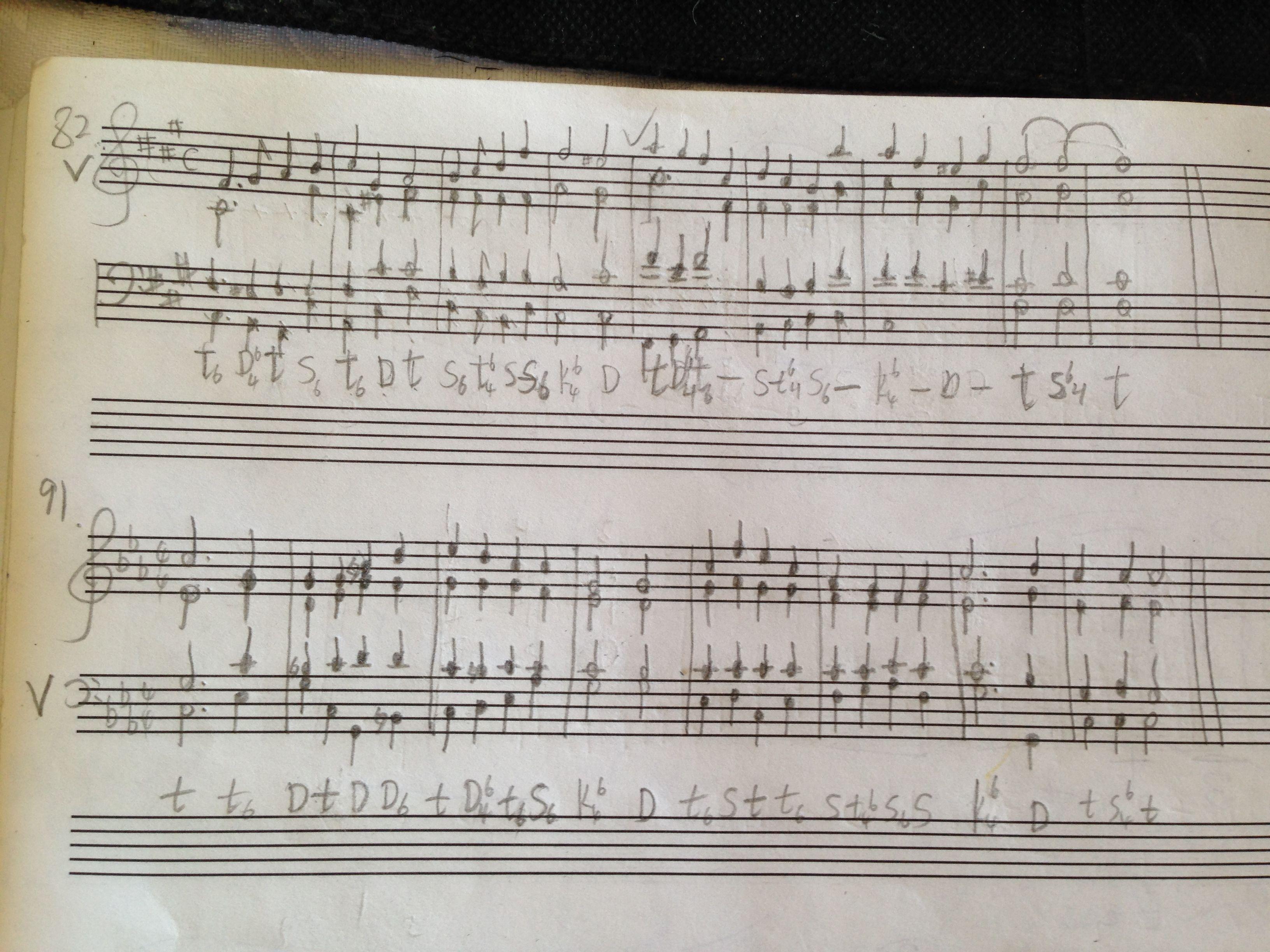 独特口风琴乐谱分享展示图片