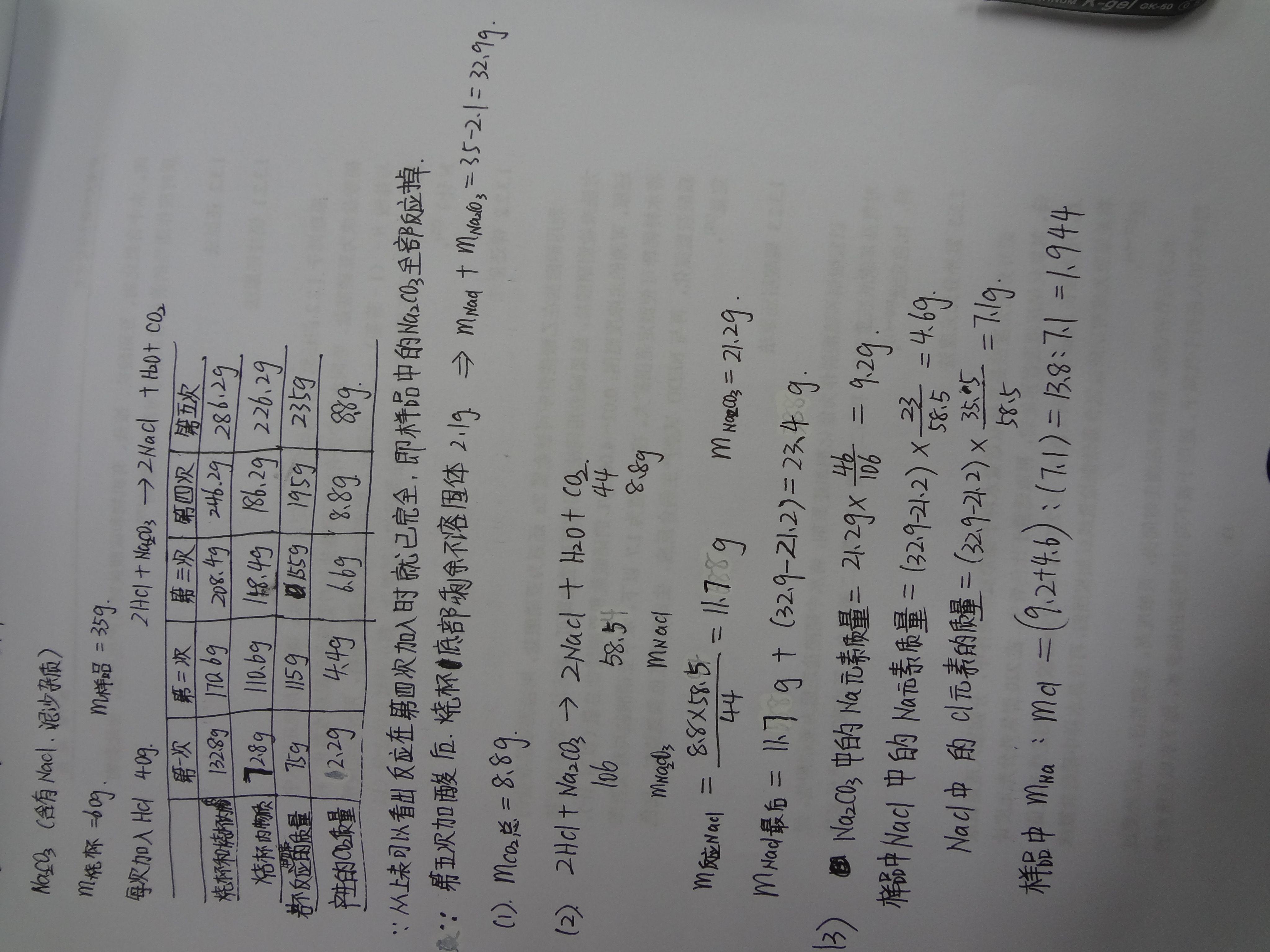 初三化学计算题图片