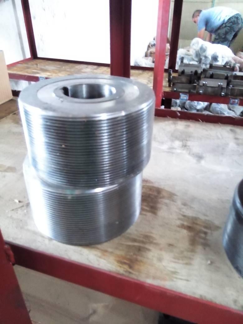 不带液压的滚丝机上的串滚滚丝轮应该怎么做图片