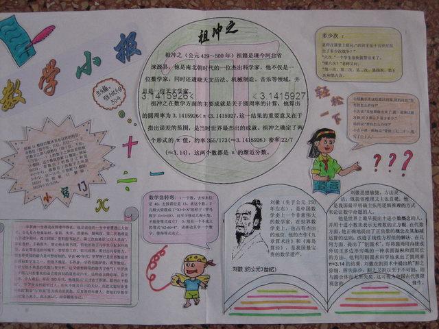 五年级下册数学小报 5年级下册数学小报 新人教版五年级下册图片