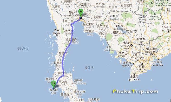 曼谷怎么到普吉岛