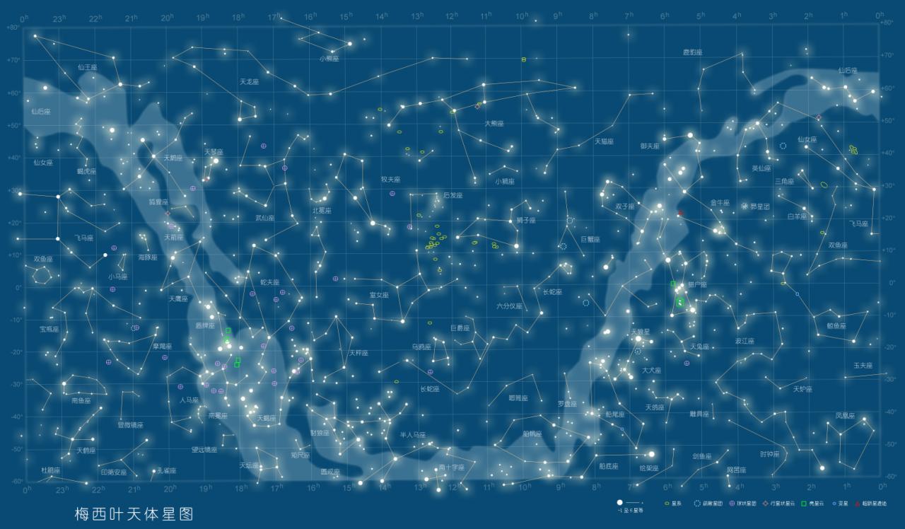 12星座的星空图,不是梦幻图,也不是连着的,就是一个一个星星的那种图片