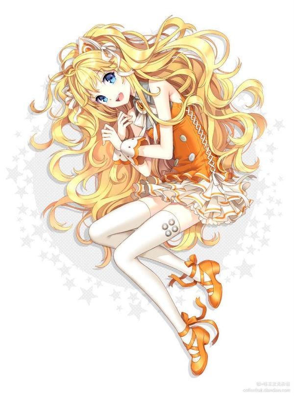 求可爱的动漫美少女图片,蓝色系和粉色系的图片,很萌的 百度知道
