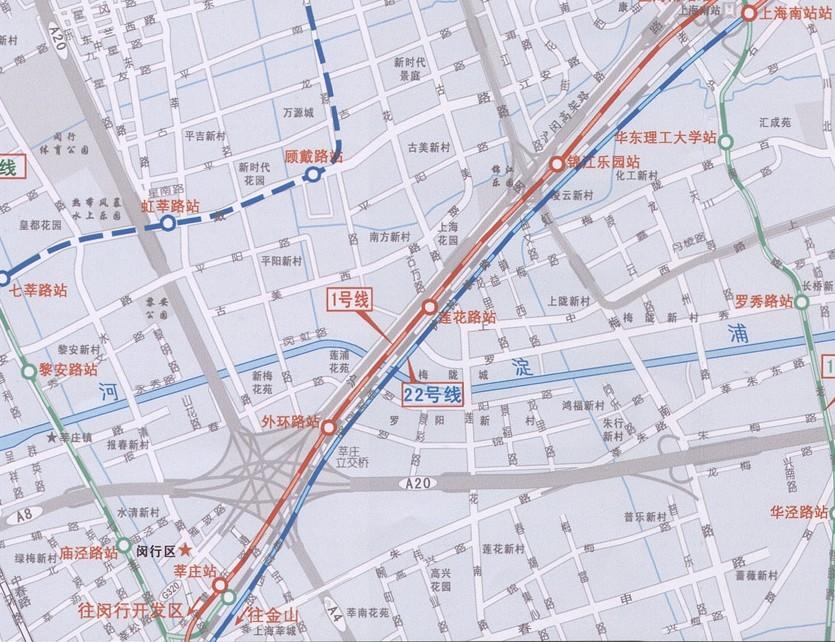 上海22号线 上海轨道交通22号线 上海22号线线路图图片