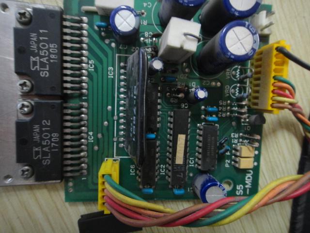 有个步进电机驱动器,如图, 请问怎么接线啊图片