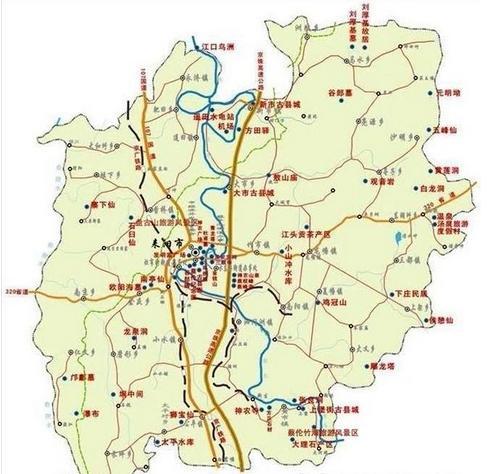 耒阳市有哪些的地方