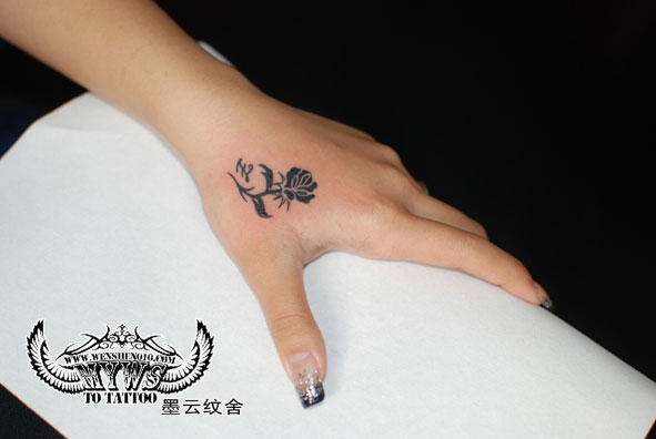 求漂亮小巧的女生纹身图案图片