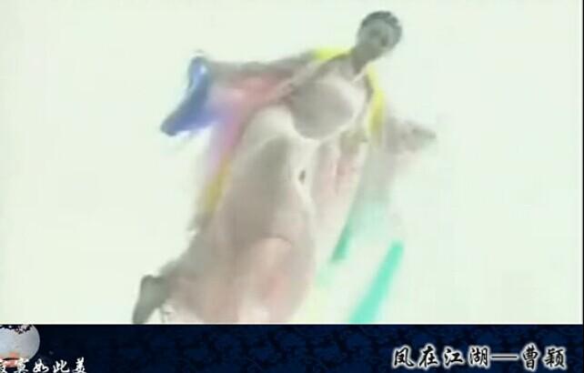 古装美女 惊艳出场中《凤在江湖》曹颖出场的画面是