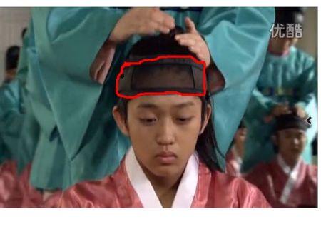 朝鲜古代服饰的这个东西是什么
