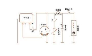 拖拉机发电机怎么接线图片