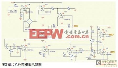 求气压传感器连接到aduc812单片机的模拟量的电平图片