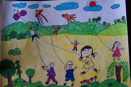 幼儿园小班六一一美术作品图片
