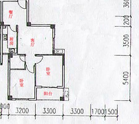 谁帮忙把70平米的2房2厅改3房2厅(1厅也行),带设计效果图!谢谢!图片
