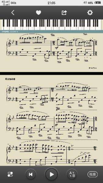 梦中的婚礼钢琴谱_百度知道图片