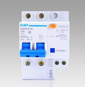 漏电�y��:(�y�k�c���!�f_正泰dz47le-32 c32 空气开关带漏电保护吗?