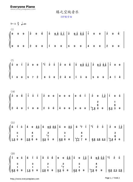 夜的钢琴曲五简谱图片