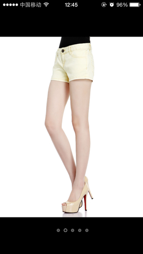 皮肤黑的女孩穿这种黄色好看不?