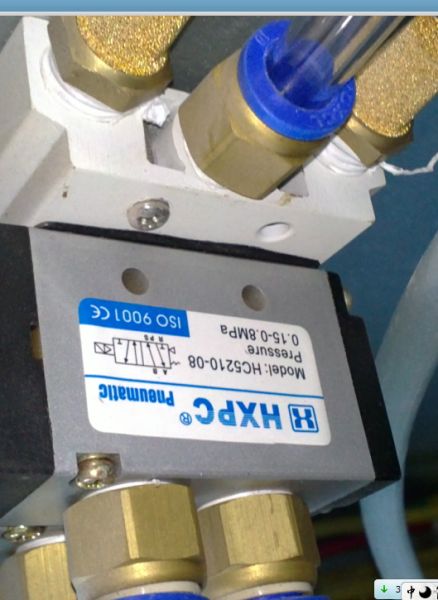 这种电磁阀怎么连接气管,我需要接三个气锤,还有怎样测电磁阀是否工作图片