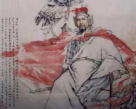 求岳飞诗词《满江红》的配画图片