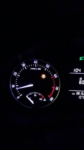 汽车仪表盘上这个 图标亮 是什么问题?   【汽车仪表盘 图高清图片