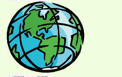 画地球简单的图画