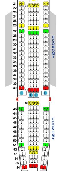 急求东航mu587座位示意图图片