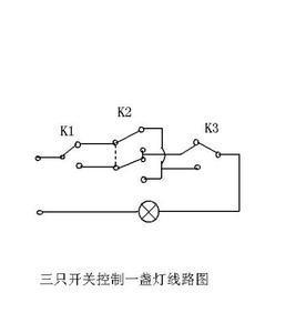 futian/h30一灯三控接线图图片