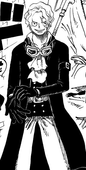 海贼王刚刚登场的长大后的萨博他是什么发型高清图片