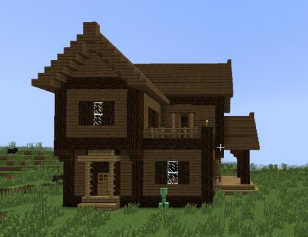 我的世界小别墅 我的世界建别墅教程 我的世界小别墅